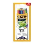 BIC - Crayons Xtra Fun Graphite HB n° 2, paq./8