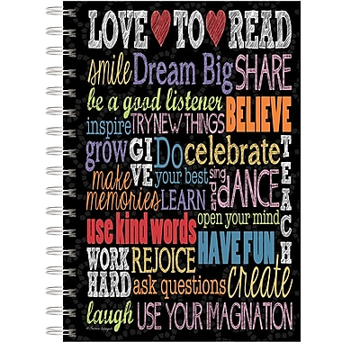 Lang 1350009 Believe Spiral Bound Hard Cover Journal