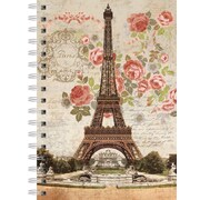 Lang 1350011 Dreaming Of Paris Spiral Bound Hard Cover Journal