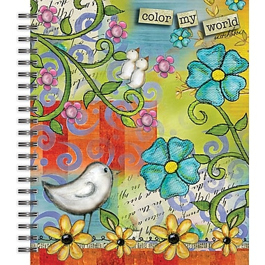 Lang 4006000 Color My World Spiral Bound Hard Cover Sketchbook