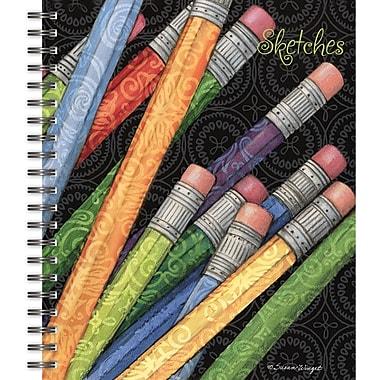 Lang 4006507 Sketches Spiral Bound Hard Cover Sketchbook