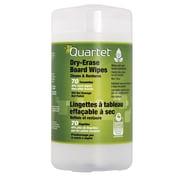 Quartet - Lingette pour tableau effaçable à sec, non toxique, faible odeur, 70 lingettes/paquet
