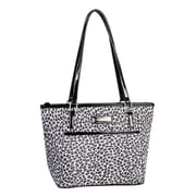 Simon Chang Ladies Polyester Microfiber Leopard Print Cooler Bags