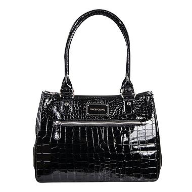Simon Chang Ladies Faux Leather Croco Print Cooler Bag, 8.5