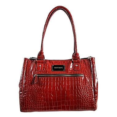 Simon Chang Ladies Faux Leather Croco Print Cooler Bag, 8.5