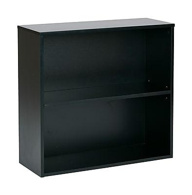 Pro-Line II Prado 2 Shelf Bookcase Black 29.75