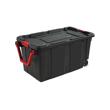 Sterilite 40 Gallon Wheeled Industrial Tote, 18
