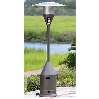 Paramount PH-B-106 Powder Coated Conical Shaped Patio Heater Mocha