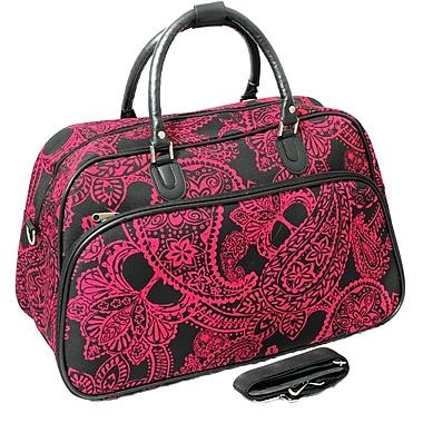 All-Seasons 21'' Travel Duffel; Pink