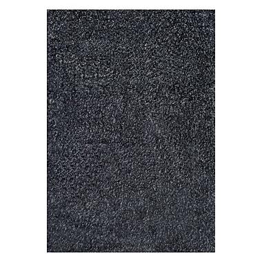nuLOOM Shag Dark/Gray Area Rug; 5'3'' x 8'