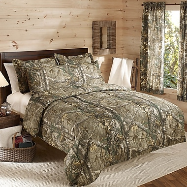 Realtree 3 Piece Comforter Set; Full
