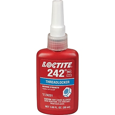 Threadlocker 242 Medium Strength, Aa652, 250ml