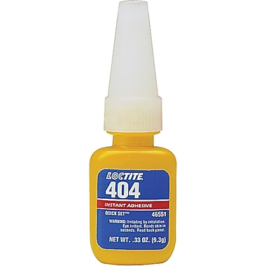 404 Quick Set Industrial Adhesive, 3/Pack