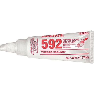 Thread Sealant 592 Pst Slow Cure, Ac100, 50ml, 3/Pack