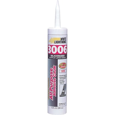 3006 All Purpose Adhesive Caulk, 36/Pack