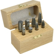 8 Piece Solid Carbide Burr Set