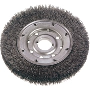 Crimped Wire Wheel Brushes, Narrow Face, Wire Gauge, 0.014, Bw888