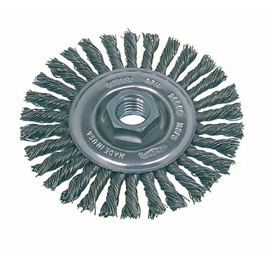 Knot Wire Wheel Brushes, High Speed Steel Small Grinder, Stringer Bead