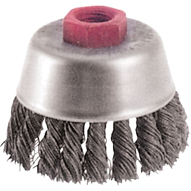 Knot Wire Cup Brushes, High Speed Small Grinder, Colour, Steel, Bx653