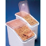 Mobile Ingredient Bins With Sliding Lid, Capacity Cu. Ft., 2 3/4