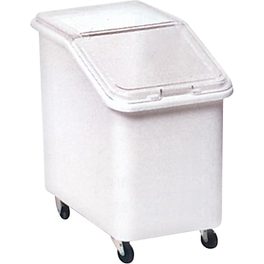 Mobile Ingredient Bins With Sliding Lid, Capacity Cu. Ft., 4 1/8