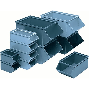 Steel Stackbins, Wt. Lbs., 9, CA768, 2/Pack