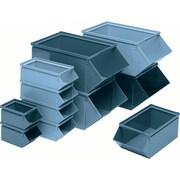 Steel Stackbins, Wt. Lbs., 9, CA768, 2/Pack