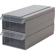 Add-a-Drawer – Bleu, dimensions 4 1/2 larg. x 10 prof. x 2 1/2 haut. (po), 6/pqt