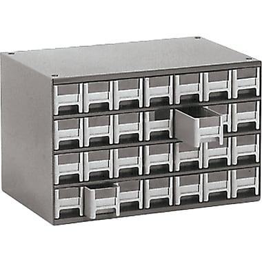 Armoires avec petits casiers modulaires, dimensions du tiroir 2 3/16 larg. x 10 9/16 prof. x 2 1/16 haut. (po)