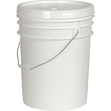 General Purpose Pails, Lids, Dimensions Dia