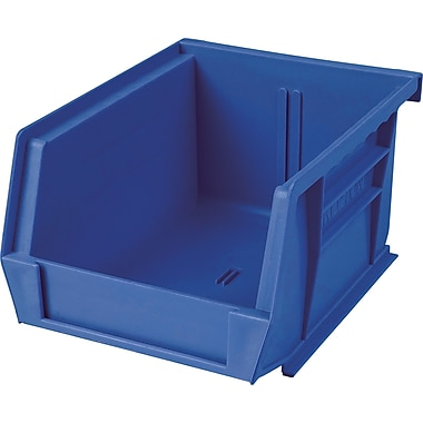 Plastic Bins, Blue, Bin Load Cap. Lbs., CB093, 24/Pack