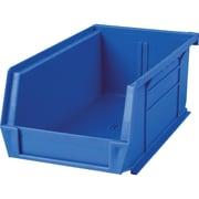 Plastic Bins, Bins, Blue, Bin Load Cap. Lbs., 10, Qty/pk, 36, Cb096
