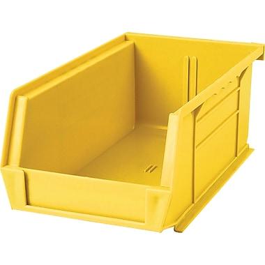 Kleton Plastic Bins, Bins, Yellow, Bin Load Cap. 10lbs., 36/Pack (CF828)