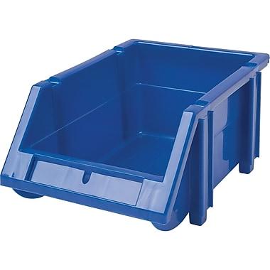 Hi-Stak Plastic Bins, Blue, CB260