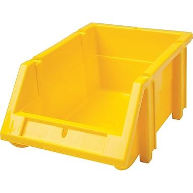 Hi-Stak Plastic Bins, Yellow, CB261