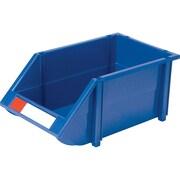 Bacs en plastique empilables CB264, bleu