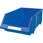Bacs en plastique empilables CB266, bleu