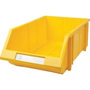 Hi-Stak Plastic Bins, Yellow, CB267