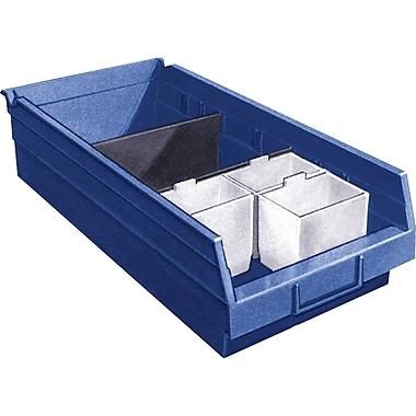Shelf Bins, Bins, Blue, Bin Cup Per Bin, 3x cb379