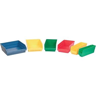 Shelf Bins, Bins, Yellow, Bin Cup Per Bin, 3x cb379