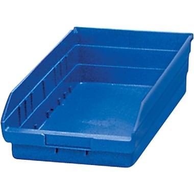 Shelf Bins, Blue, Bin Cup Per Bin, 15x CB379, 6x CB380, 12/Pack