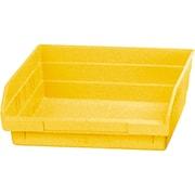 Shelf Bins, Yellow, Bin Cup Per Bin, 15x CB379, 6x CB380, 12/Pack