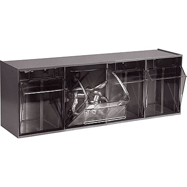 Tip-out Bin Modular Storage Systems, Cabinet Dimensions W