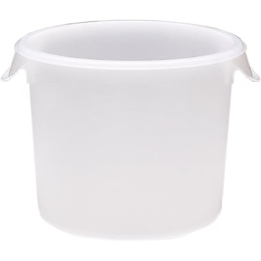 Round Storage Containers, Wt. Lbs., 0.85, CB589, 12/Pack