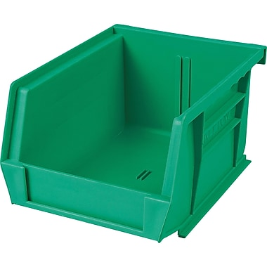 Plastic Bins, Green, CB663, 24/Pack
