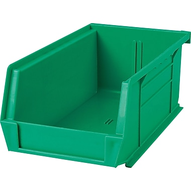 Plastic Bins, Bins, Green, Cb665