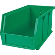 Kleton Stackable Plastic Bins, Bins, Green, CB667