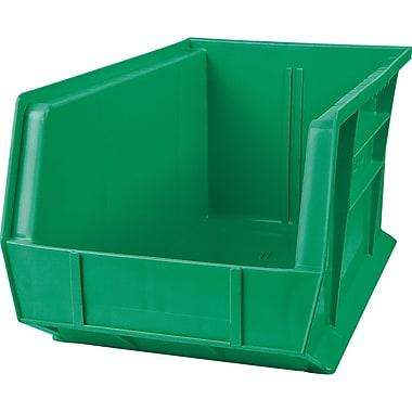 Plastic Bins, Green, CB673, 12/Pack
