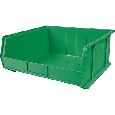 Kleton Plastic Bins, Bins, Green (CF851)