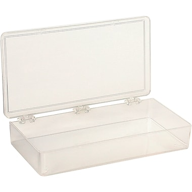 Box K-resin Transparent1 Compartment